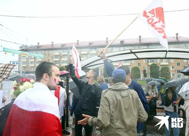 В Минске вновь собираются протестующие