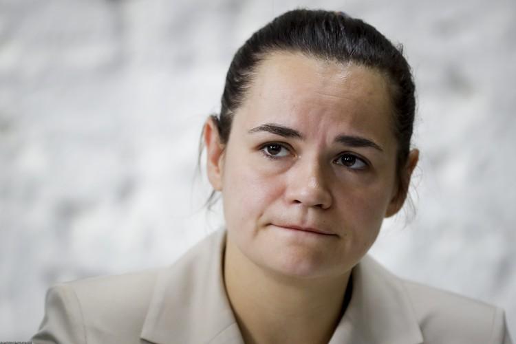 Экс-кандидат в президенты Белоруссии Светлана Тихановская.