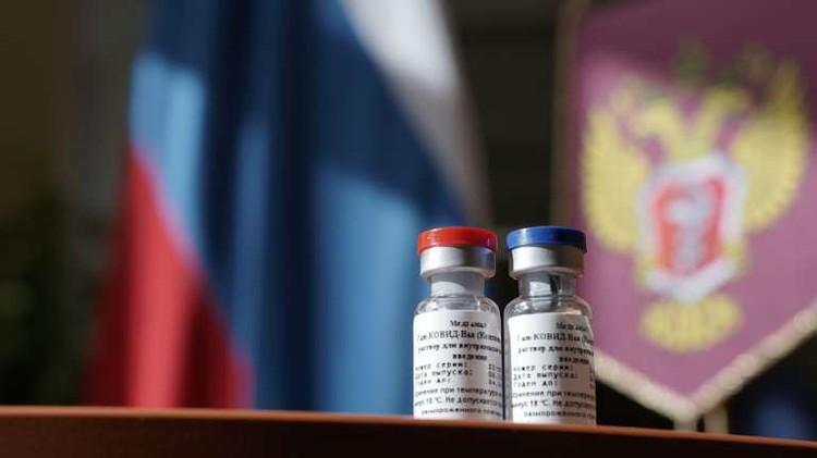 "Первая зарегистрированная вакцина против коронавируса Covid-19 ""Sputnik V"". Фото: Минздрав РФ"