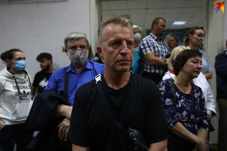 Выступление отца пятерых дочерей Юрия Кармановича не оставило никого равнодушным.