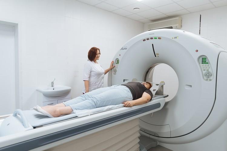 Диагностика проводится на компьютерном томографе экспертного уровня Siemens SOMATOM Emotion 16. Фото: МЛЦ