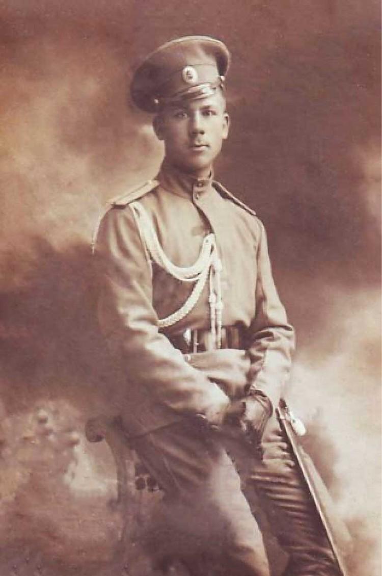 21-летний подпоручик Владимир Котлинский командовал «атакой мертвецов».