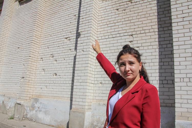 Одна из выпускников Саханки - 11-классница Эльнара