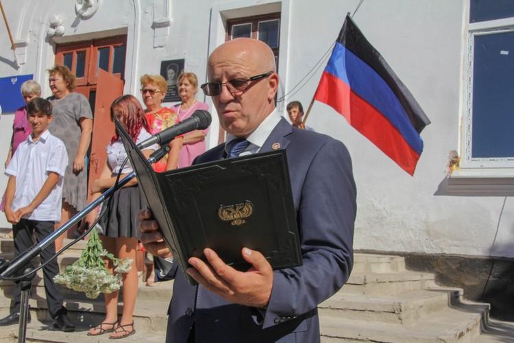Глава района Олег Моргун помог с подготовкой школы к новому учебному году