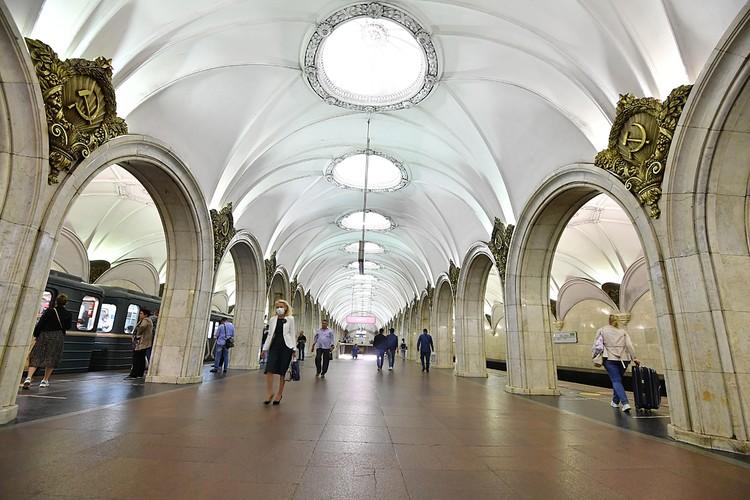 """Станция """"Павелецкая"""" Замоскворецкой линии открыта в 1943 году"""