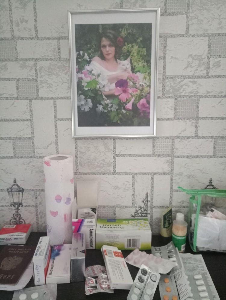 Вот так выглядела моя кухонная полка три недели назад. Лазарет на дому...