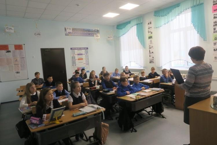 Вот как выглядел урок по данным школы. Фото: Новости средней школы № 2 г. Ишима