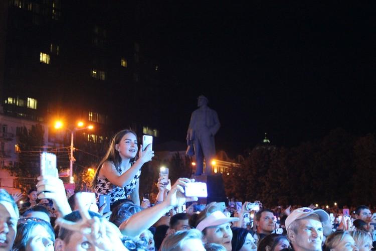 Концерт Григория Лепса в Донецке