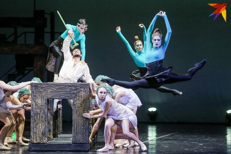 88-й сезон Большой театр Беларуси открыл премьерой - балетом на музыку Эдварда Грига «Пер Гюнт». Фото: Анна ИВАНОВА