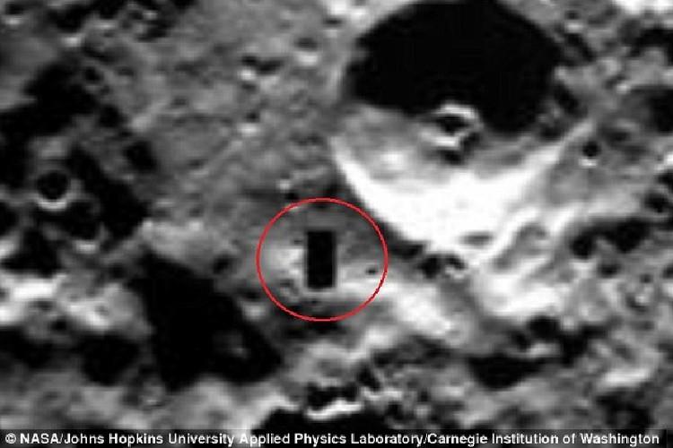 Прямоугольник на Меркурии.