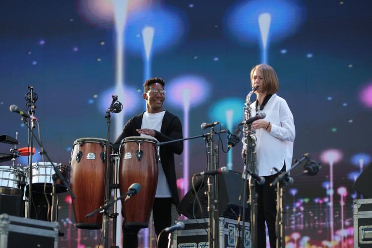 Артисты специально приехали на фестиваль в Самару