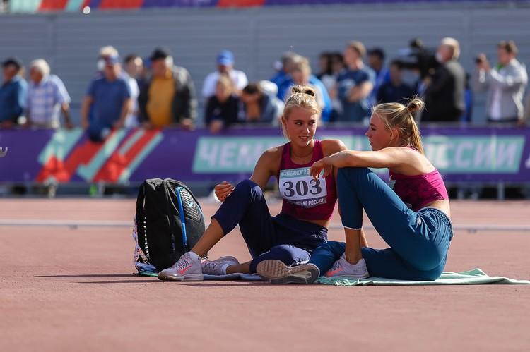 В легкой атлетике самые красивые девушки.
