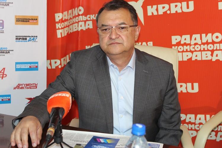 И.о. руководителя Нижне-Волжского бассейнового водного управления Фархад Миробидов