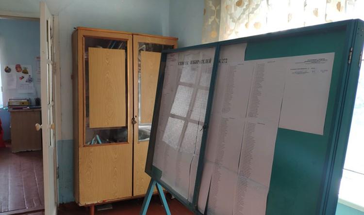 4 октября люди придут голосовать за партии, баллотирующиеся в парламент. К проведению выборов участок №7272 уже готов.