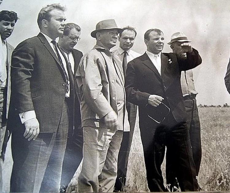 Гагарин приезжал на Дон по приглашению писателя. Фото: Предоставлено Музеем-заповедником М.А. Шолохова.
