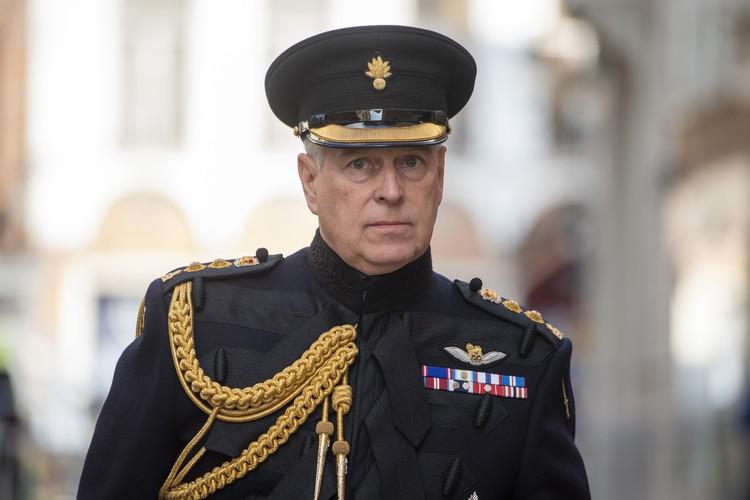 Принц Эндрю, герцог Йоркский.