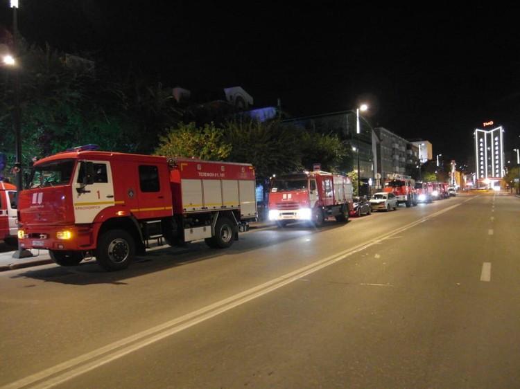 Возгорание произошло в четвертом часу утра Фото: ГУ МЧС по Красноярскому краю
