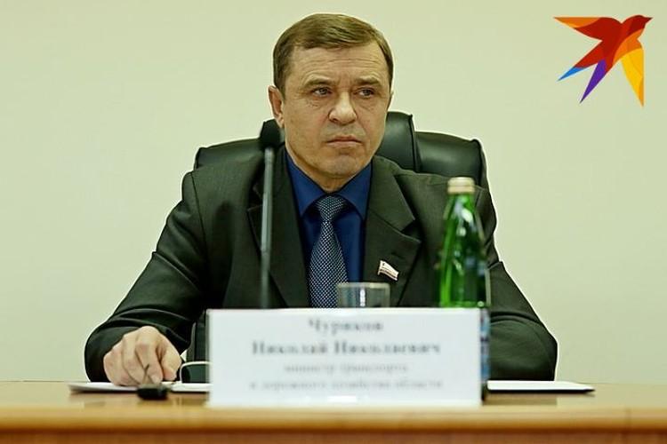 Николай Чуриков, предыдущий министр транспорта и дорожного хозяйства Саратовской области