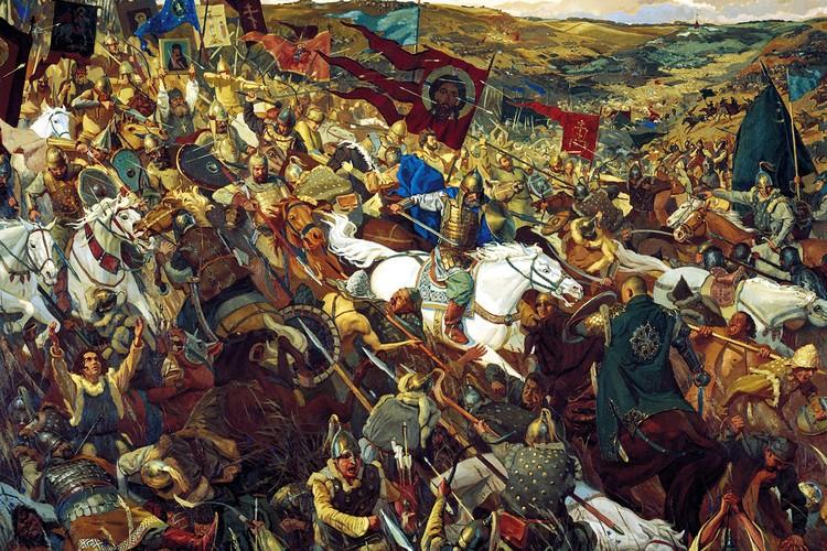 640 лет назад произошло знаменитое сражение Дмитрия Донского с ордынскими полчищами