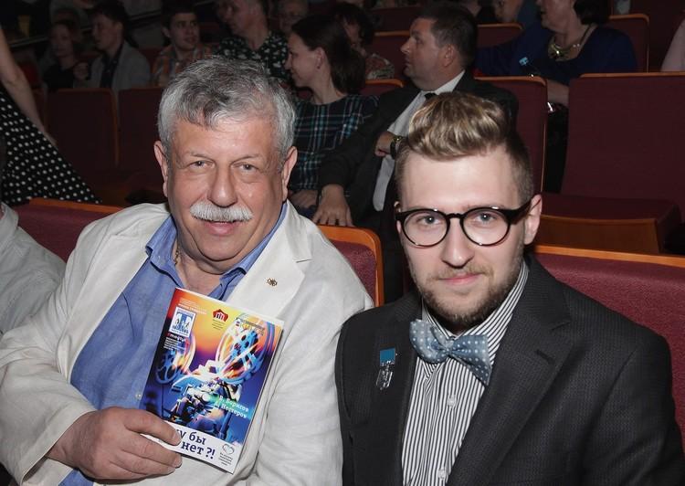 Михаил Борисов с сыном Вениамином. Фото — социальные сети