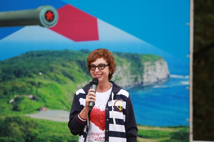 Галина Хохлова, первый заместитель секретаря регионального отделения Партии «Единая Россия».