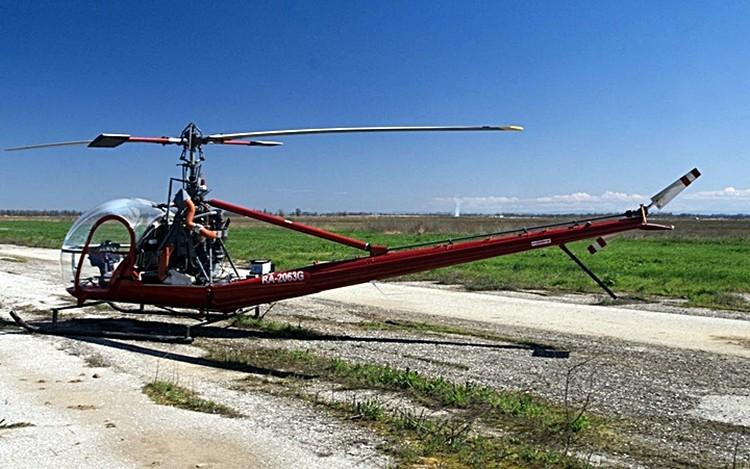 Вес вертолета - всего 900 килограмм. Фото: авито.ру