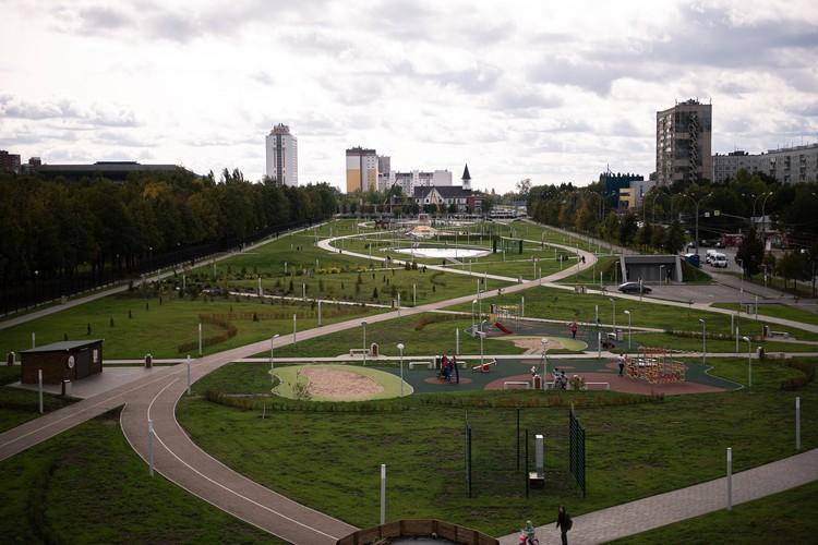 Новый сквер 50-летия АвтоВАЗа
