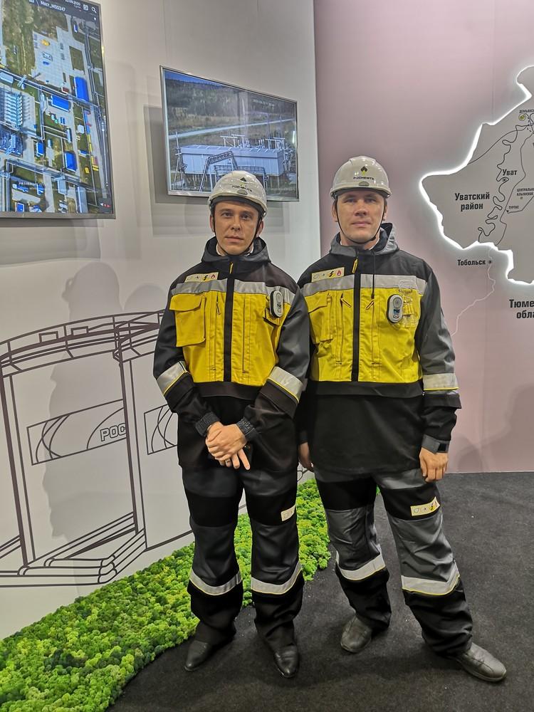 Команда специалистов на ТНФ-2020. Фото: Тюменнефтегаз