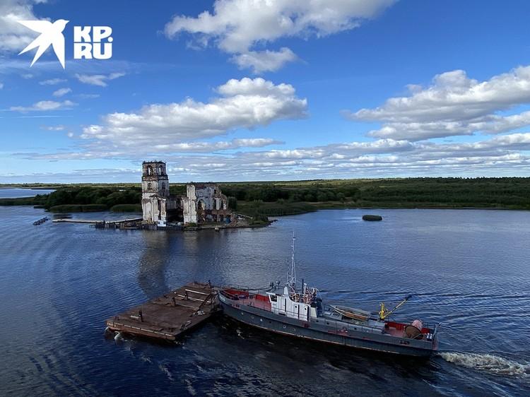 Круизы проходят по крупным рекам России.