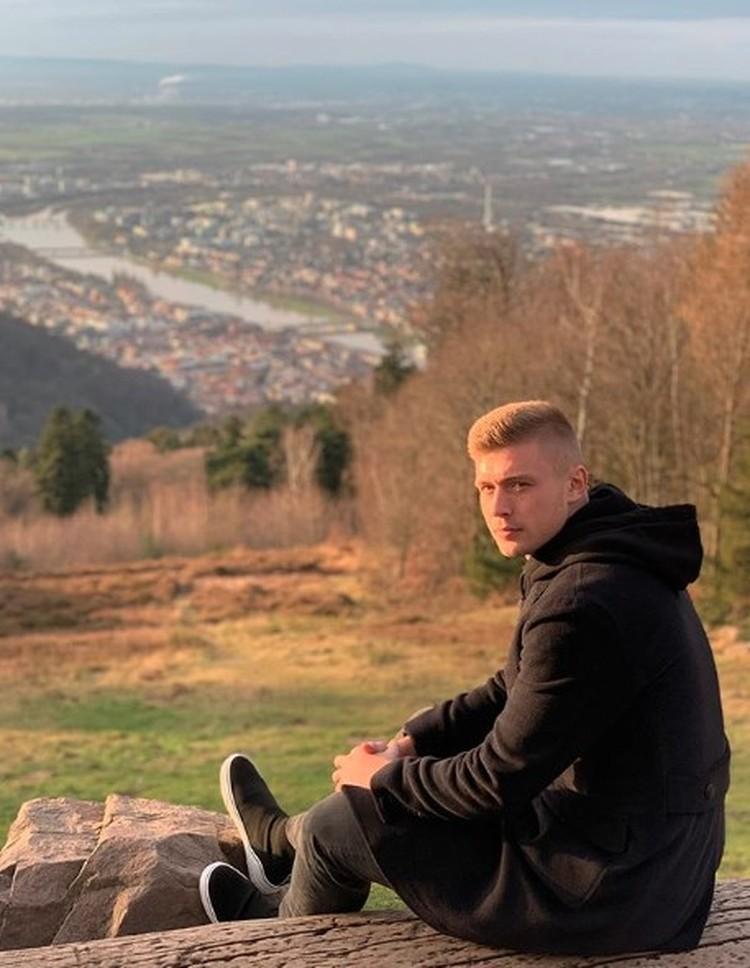 Александр Жиров в Германии.