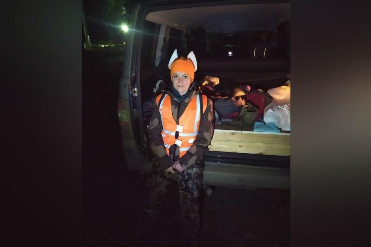 В поисках заблудившихся людей воспитатель прошла по лесу не один километр. Фото: предоставлено Ольгой Будановой