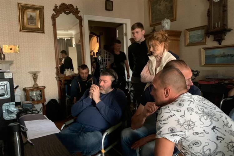 Съемки частично проходили в Петербурге.