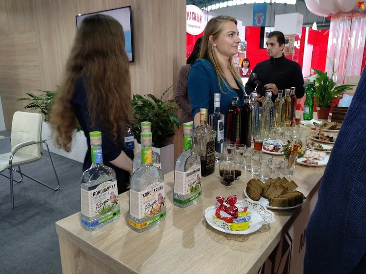 На выставке можно продегустировать продукцию ведущих белорусских брендов