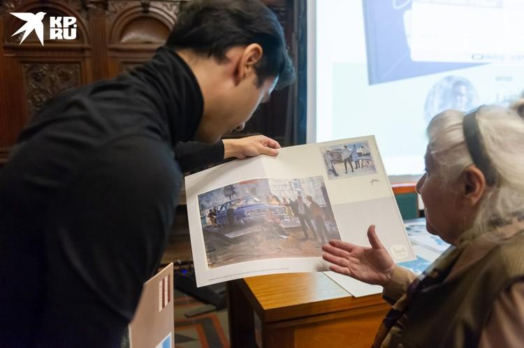 """Петербуржцев и гостей города приглашают на презентацию книги об авторе дизайна """"Волги"""" Лении Циколенко"""