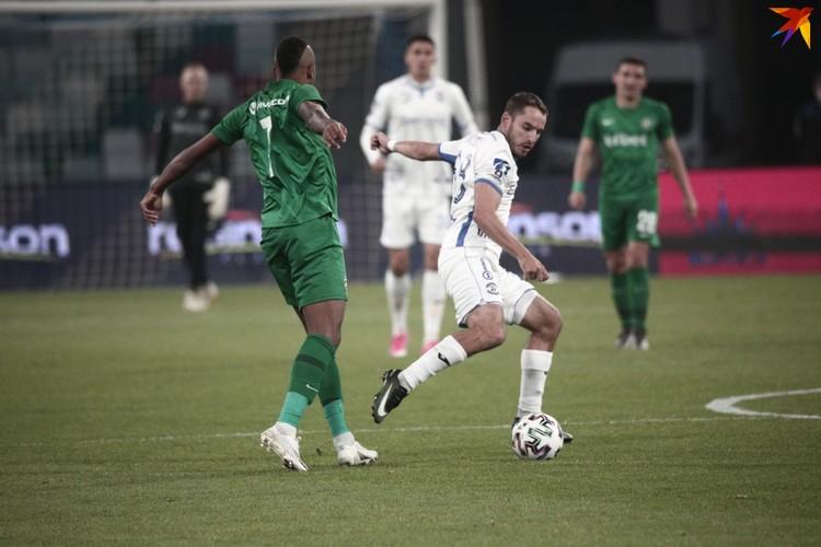 Главный матч за путевку в групповой этап ЛЕ прошел на столичном стадионе «Динамо».