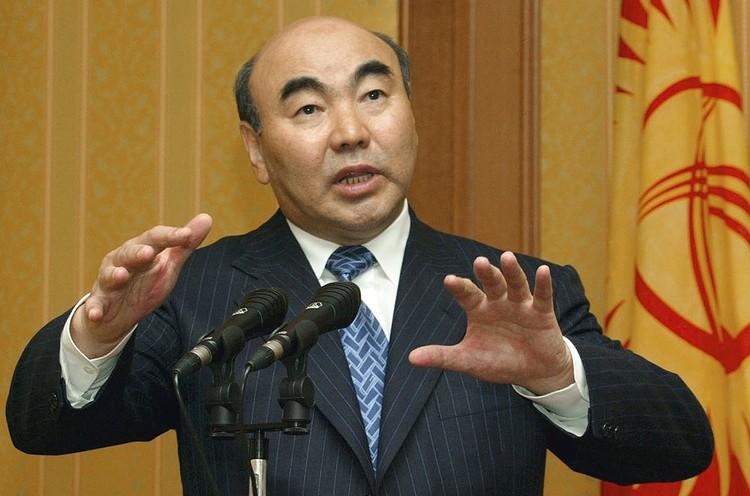 Президент Кыргызстана Аскар Акаев в 2002 году. Фото: ИТАР-ТАСС