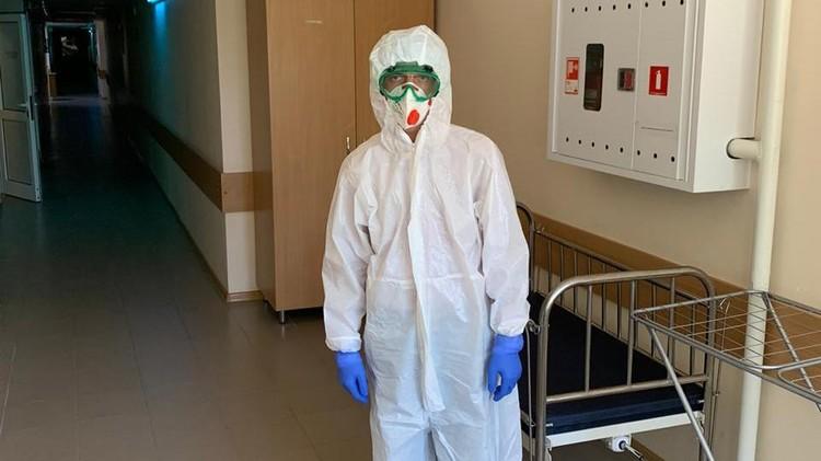 Новый глава Минздрава РК Остапенко начал с инспектирования ковидных больниц. Фото: Минздрав РК