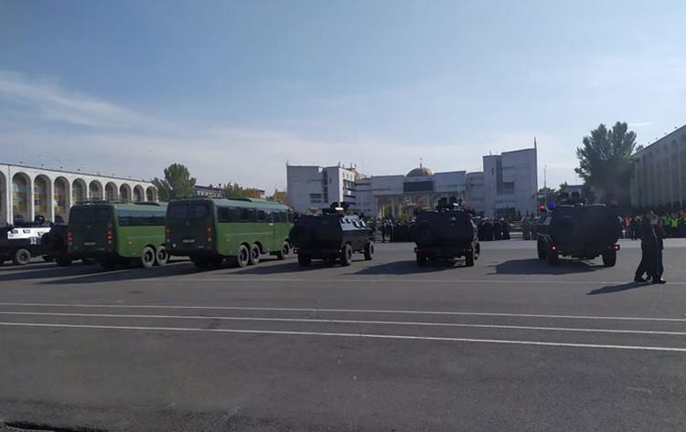 На центральной площади города пройдет развод-инструктаж силовиков.