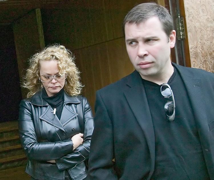 Певица Лариса Долина с мужем Ильей Спицыным, 2005 г. Фото: ИТАР-ТАСС/ Михаил Фомичев
