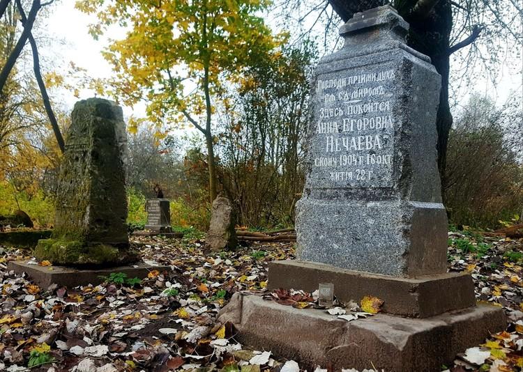 Старинное надгробие. Фото: из паблика Мемориал «Волынский некрополь»/vk.com/volynskiy_nekropol