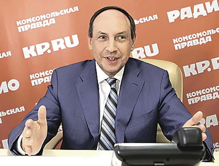 Вячеслав Никонов.
