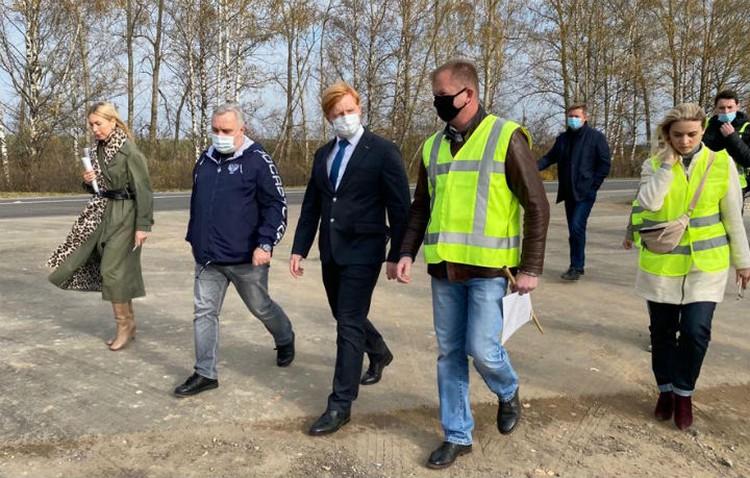 Сегодня в Кстовском районе стартовали работы по расширению проезжей части.