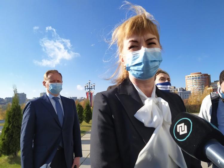 Елена Утемова, директор департамента здравоохранения.