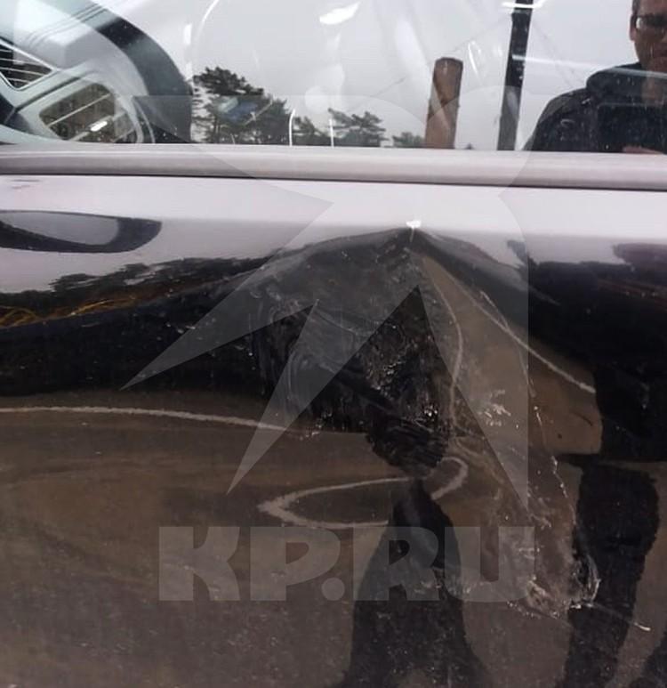 Повреждения автомобиля Михаила.