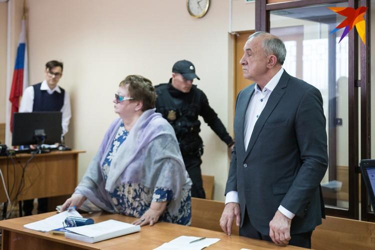 Экс-глава Удмуртии Александр Соловьев на заседании суда 08.01.2019