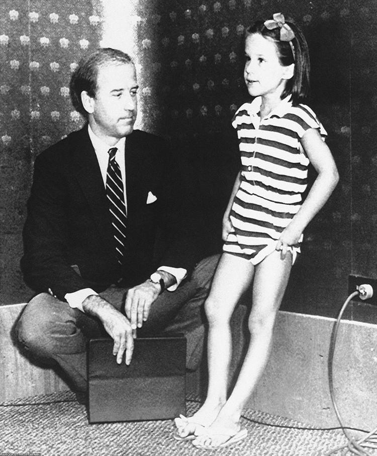 Джо Байден и дочь дочь Эшли