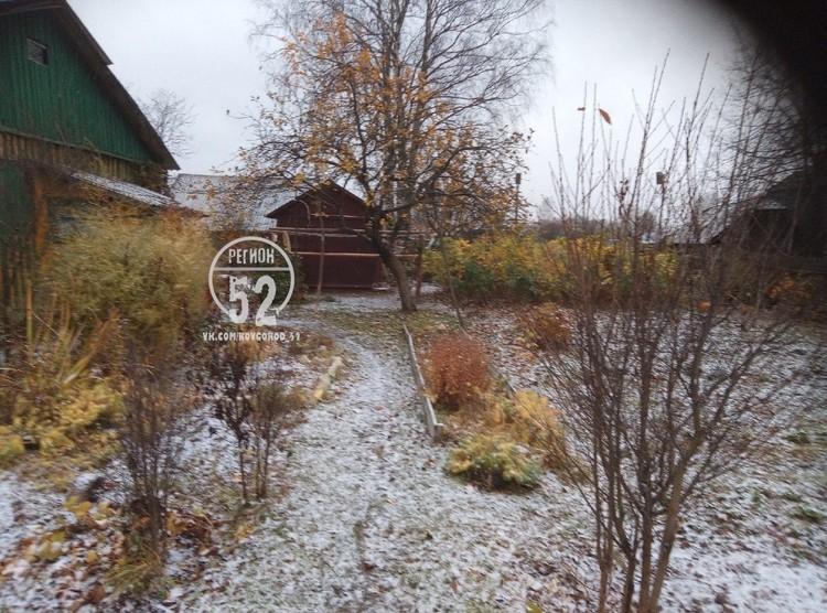 Зима вторглась на нижегородскую территорию.