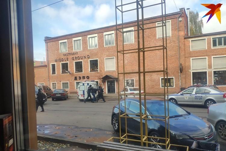 Задержание прошли на улице Октябрьская.