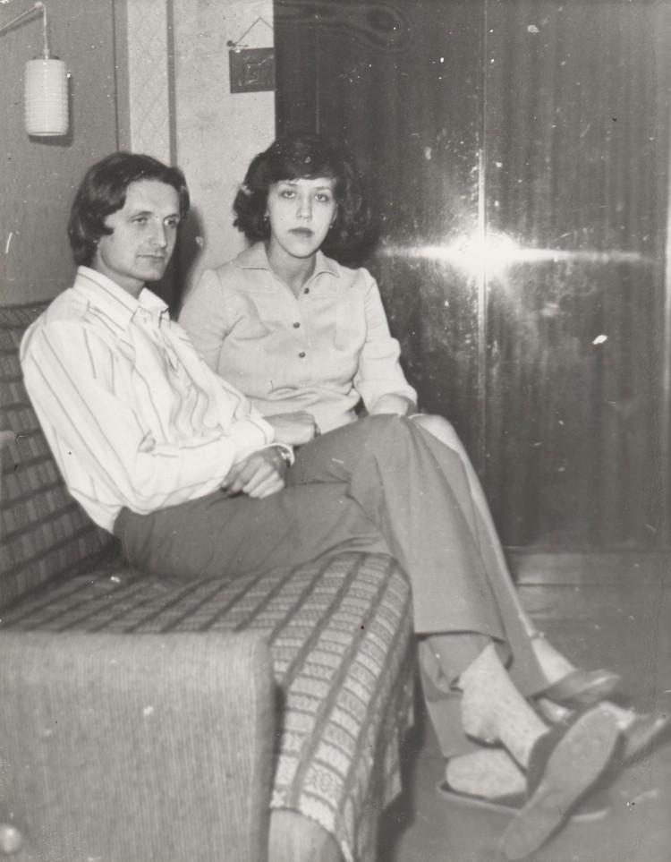 Владас Грачев и Лилия Грачева. Фото: архив семьи