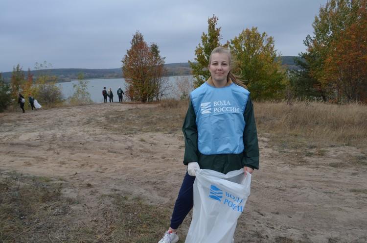 Ученица 11 класса Катя, волонтер-эколог: «Экология и чистота для меня - важная тема»